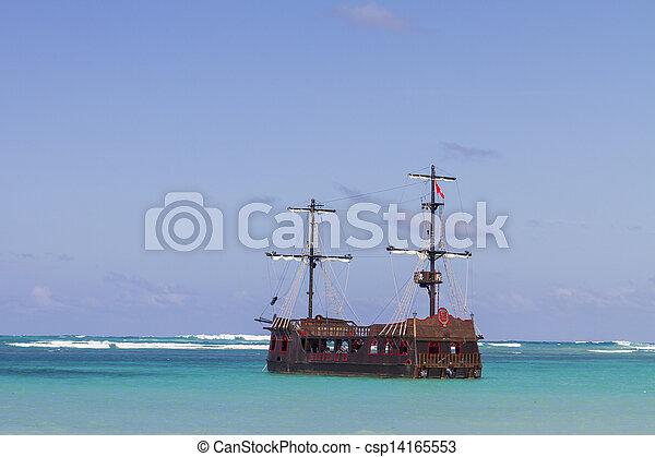 Mar Caribeño - csp14165553