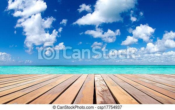 Mar tropical - csp17754937