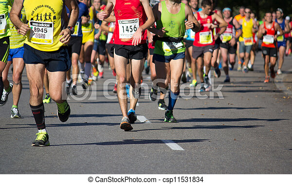 Maratón - csp11531834
