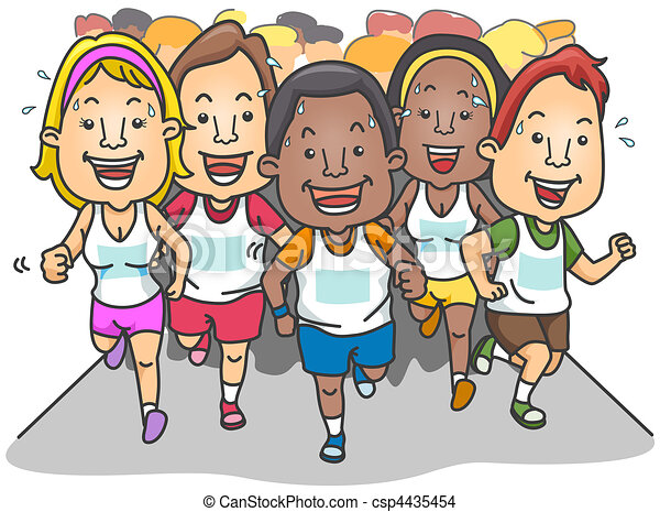 Marathon - csp4435454