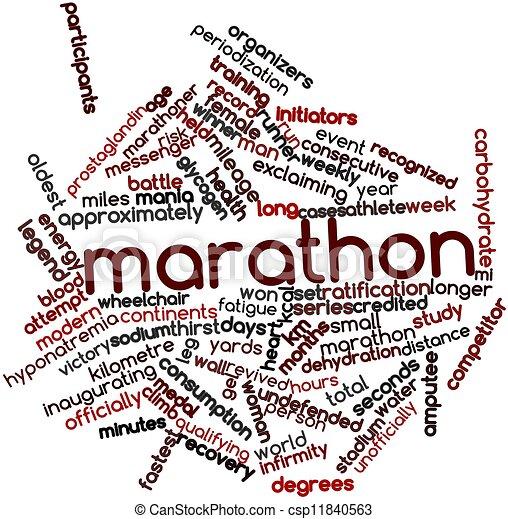 Marathon - csp11840563