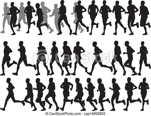 marathon - vector - csp14992803