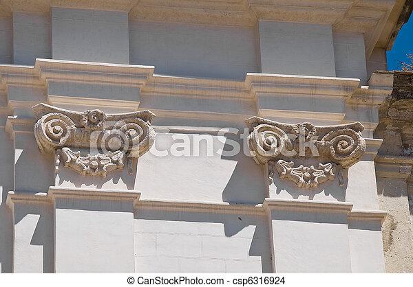 Marble columns. - csp6316924