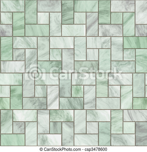 marble pavers or tiles - csp3478600