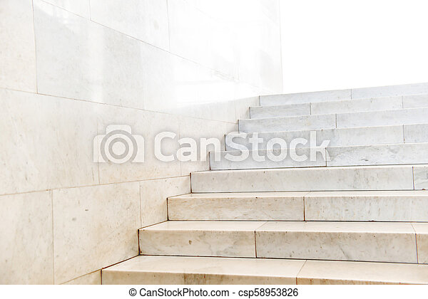 Marble Staircase With Stairs   Csp58953826