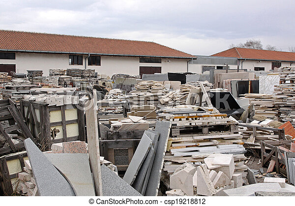 Marble warehouse