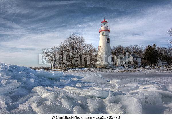 Marblehead Lighthouse - csp25705770