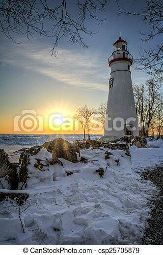 Marblehead Lighthouse - csp25705879