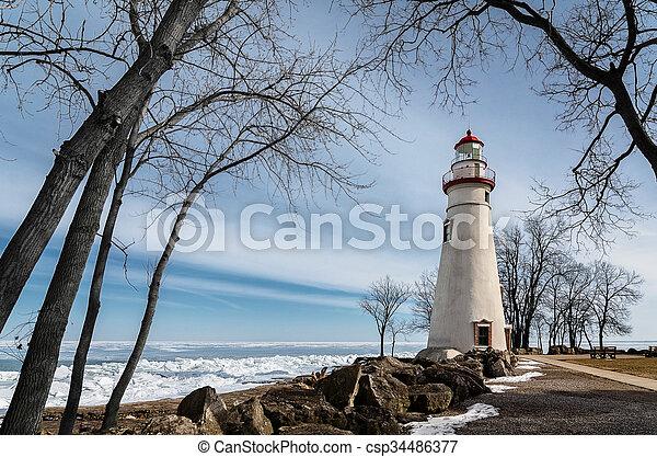 Marblehead Lighthouse - csp34486377