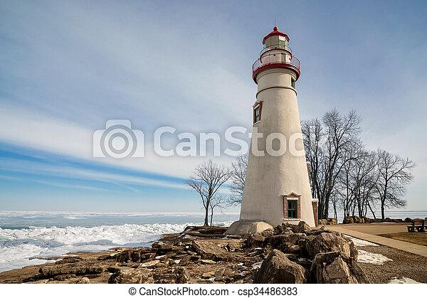 Marblehead Lighthouse - csp34486383