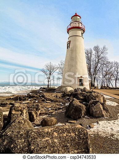 Marblehead Lighthouse - csp34743533