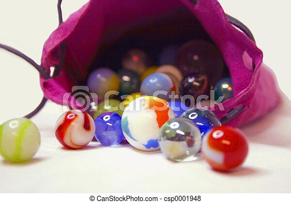 Marbles in Bag - csp0001948