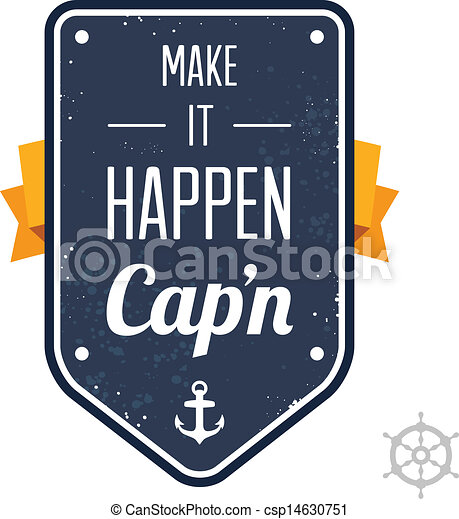 Hazlo, capitán - csp14630751