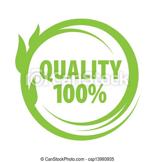 marca, qualidade, excelente - csp13993935