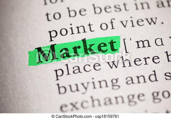 marché - csp18159761