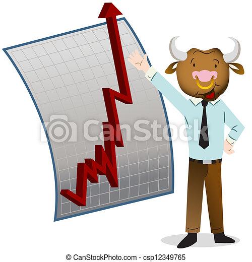 marché, taureau - csp12349765
