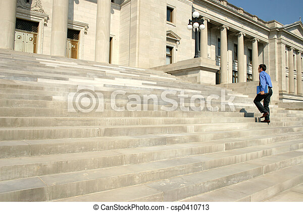 marche, étapes, homme - csp0410713