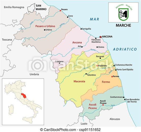 Marche Cartina Muta.Marche Stock Illustration Images 356 Marche Illustrations Available To Search From Thousands Of Royalty Free Eps Vector Clip Art Graphics Image Creators
