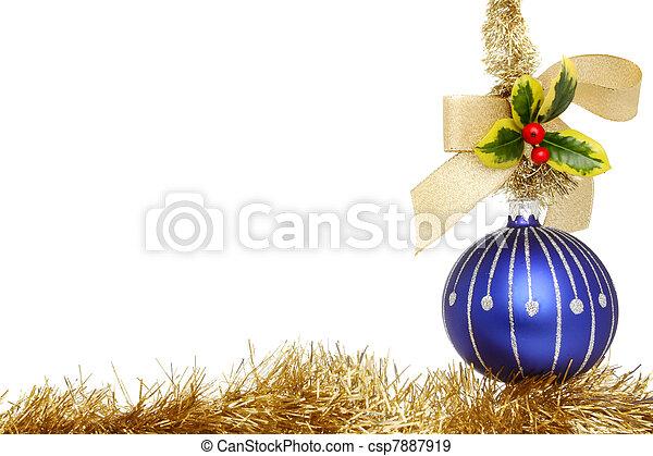 Encuadre de Navidad - csp7887919
