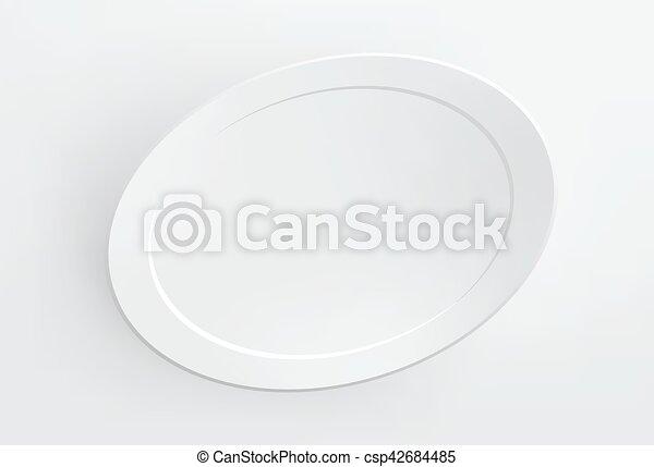 Marco, blanco, blanco, vector., wall. Blanco, marco, vector, blanco ...