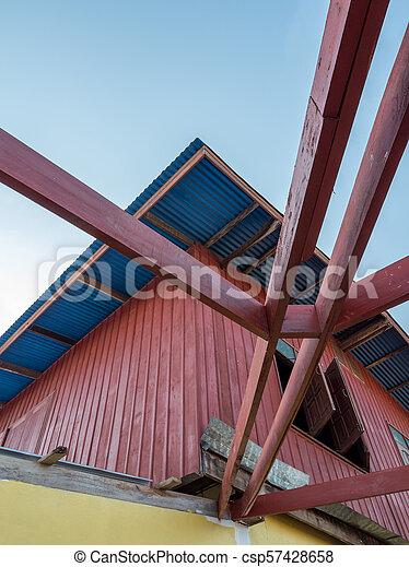 Marco De Madera Roof Terraza