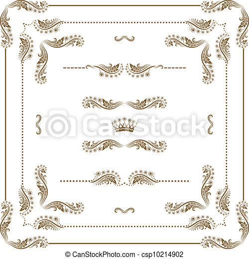 Un marco decorativo - csp10214902