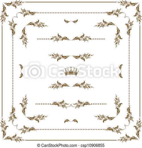 Un marco decorativo - csp10906855