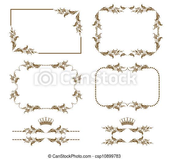 Un marco decorativo - csp10899783