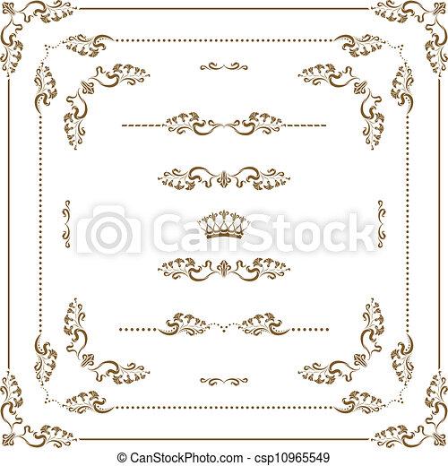 Un marco decorativo - csp10965549