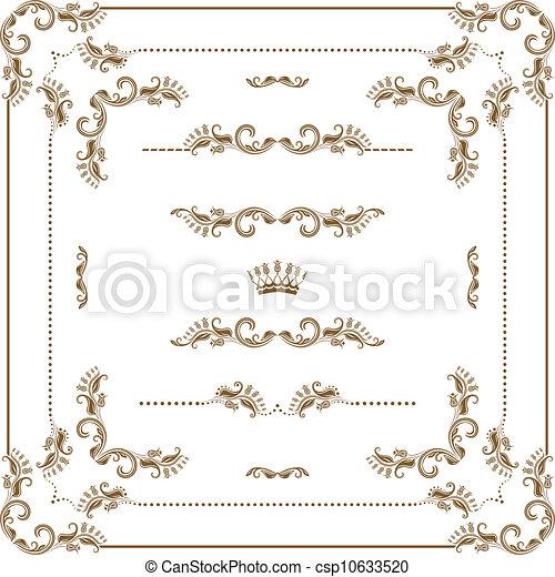 Un marco decorativo - csp10633520