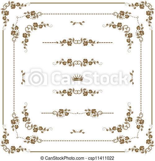 Un marco decorativo - csp11411022