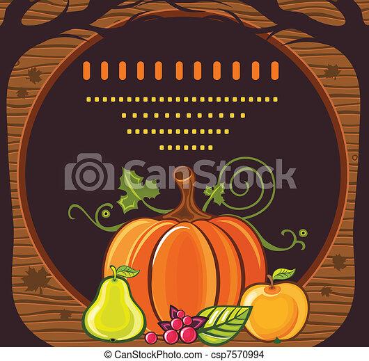 Día de Acción de Gracias 7 - csp7570994