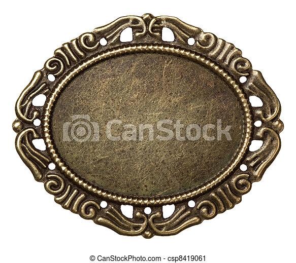 Un marco de metal - csp8419061