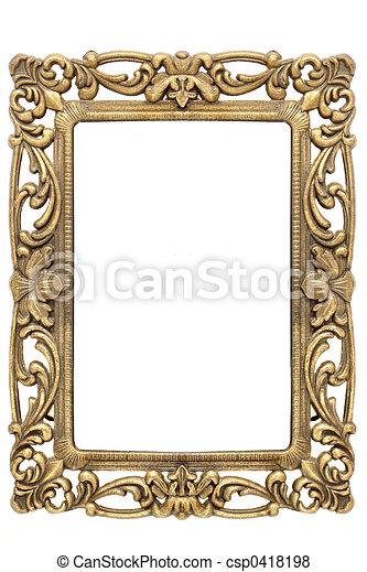 Un marco de oro - csp0418198