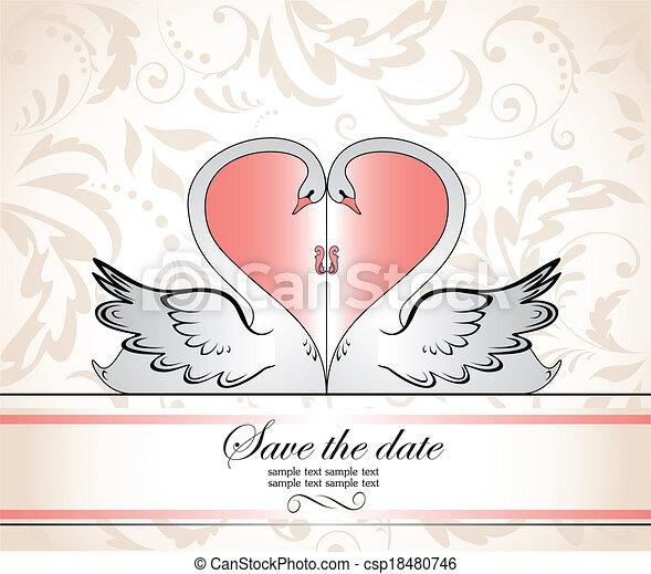 El marco de la boda - csp18480746