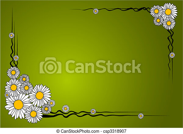 Frase de flor vector - csp3318907