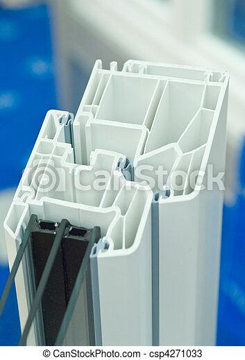 El marco de la ventana - csp4271033