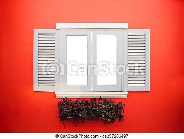 Un marco de ventana - csp57286497