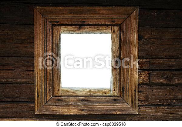 Un marco de ventana - csp8039518