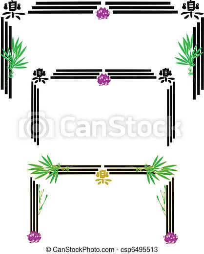 marcos, blanco, chino - csp6495513