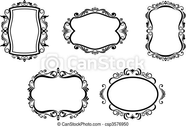 marcos antiguos - csp3576950