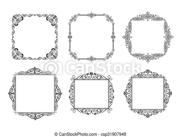 marcos antiguos - csp31907948