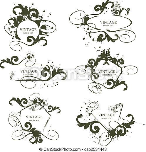 marcos, vendimia - csp2534443