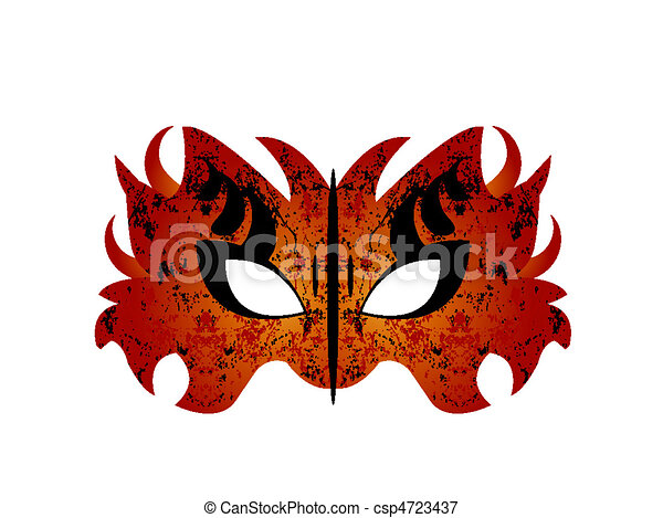 mardi gras masquerade party mask vector file easy to edit