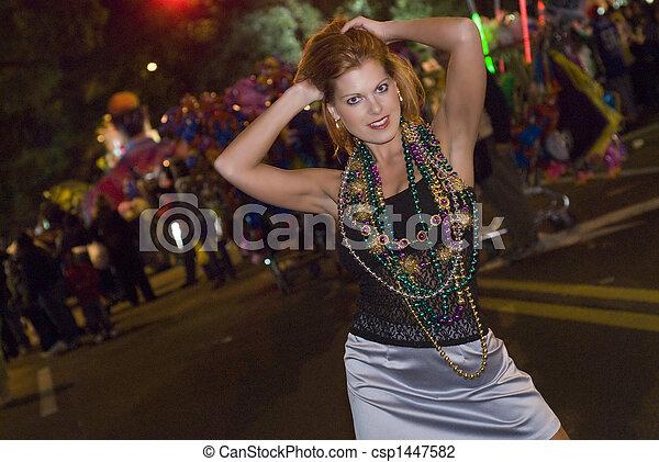 Mardi Gras Parade  - csp1447582
