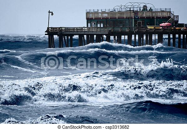 Mares tormentosos - csp3313682