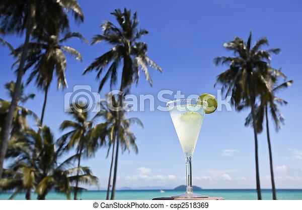 Margarita cocktail. - csp2518369