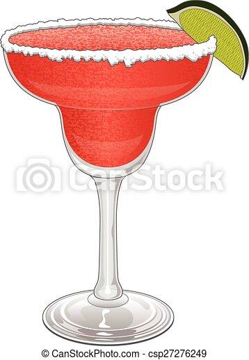 margarita strawberry is an illustration of a frozen eps vector rh canstockphoto com margarita clip art images margarita clip art images