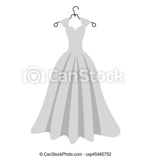 Mariee Silhouette Robe Deguisement Colore Silhouette Colore Illustration Mariee Vecteur Deguisement Robe Canstock