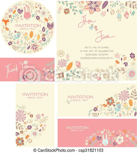 Mariage Ensemble Ve Carte Invitation
